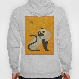 Asai Kiyoshi Japanese Woodblock Siamese Cat Midcounty Modern Art Hoody