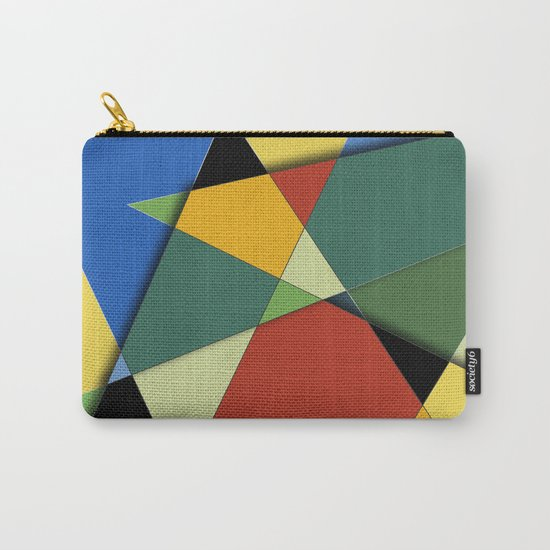 Abstract #323 Vincent's Palette Carry-All Pouch