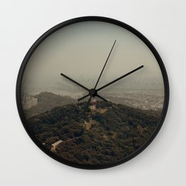 View From Namsan Tower Wall Clock