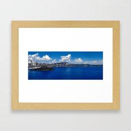 Crater Lake Framed Art Print