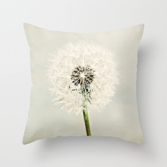 Dandelion Dreams  Throw Pillow