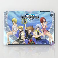 kingdom hearts iPad Cases featuring Kingdom Hearts by clayscence