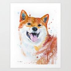Shiba Inu Art Print