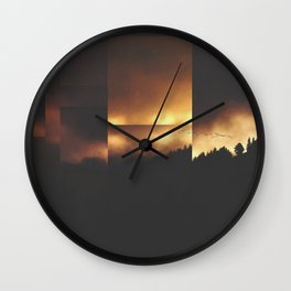 Fractions A36 Wall Clock