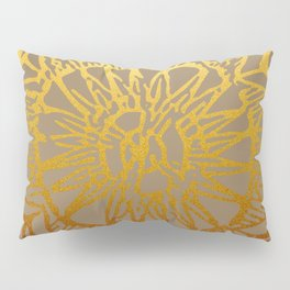Aztec Sun Tribal Design 3 Pillow Sham