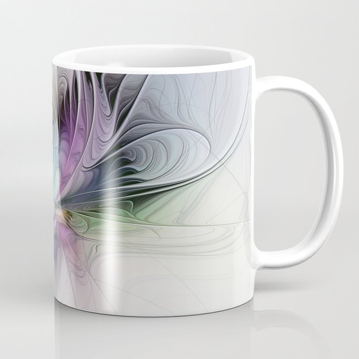 New Life, Abstract Fractals Art Coffee Mug