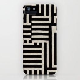 Optical Maze iPhone Case
