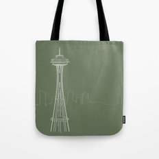 Seattle by Friztin Tote Bag