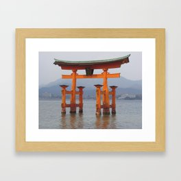 Itsukushima Shrine Framed Art Print