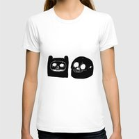 finn and jake T-shirts featuring Jake And Finn  by Matty Stone
