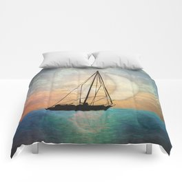 Sail Away With Me Comforters
