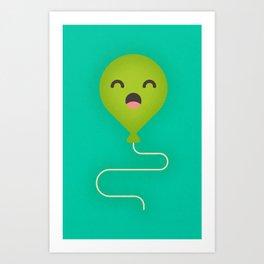 Party Balloon Art Print