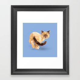Balinese Cat Framed Art Print