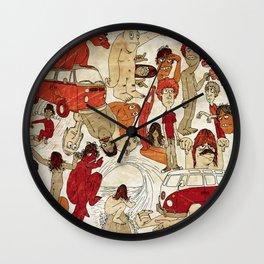 Go Longboard Vintage Wall Clock
