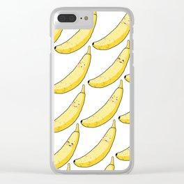 Banana Bro's Clear iPhone Case