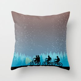 Searching for Will B. - 80s things Throw Pillow