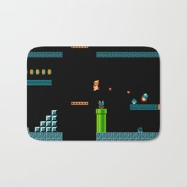 Mario Underworld Bath Mat