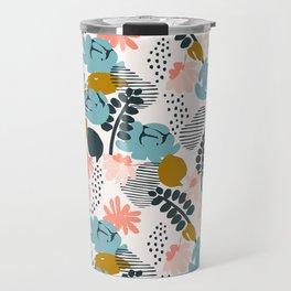late summer floral Travel Mug