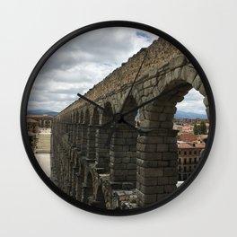 Segovia, Spain Wall Clock