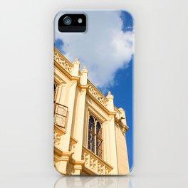 Windows of Lednice Castle iPhone Case