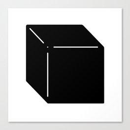 Shapes Cube Canvas Print