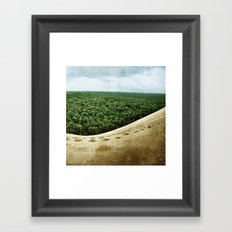 Beyond the Sand Dune Framed Art Print