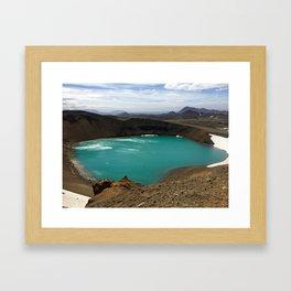 Lake Myvatn Framed Art Print