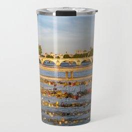 Love padlocks - Paris Travel Mug