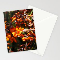 Fire Flower Stationery Cards