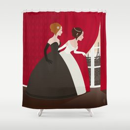 Prinzess Neugier Shower Curtain