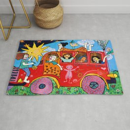 Together we are strong Rug
