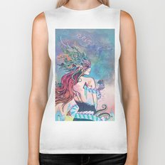 The Last Mermaid Biker Tank