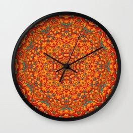 Perplexed - Decorative Paper Mandala Wall Clock