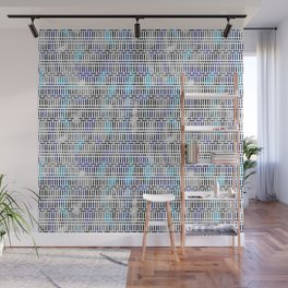 Geometric Wall Mural