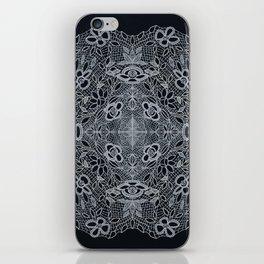 Crocheted Lace Mandala iPhone Skin