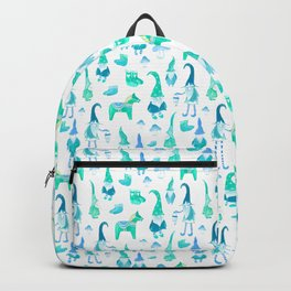Tomte, Nisse, Swedish gnomes Backpack