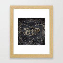 Book of Sin Framed Art Print