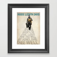 Inside Llewyn Davis Framed Art Print
