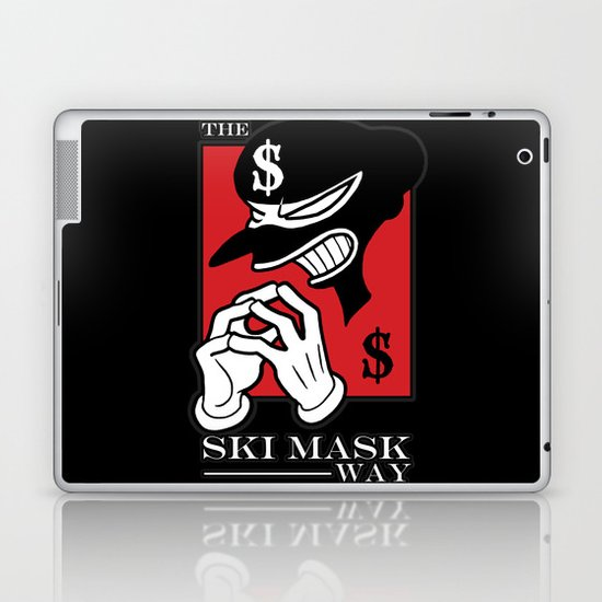 The Ski Mask Way Laptop & iPad Skin