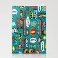 sayings Stationery Cards featuring super heros sayings by  Alexia Miles photography