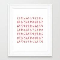 guns Framed Art Prints featuring Guns by Abdelati Dinar