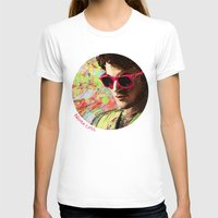 darren criss T-shirts featuring Colourful Darren Criss by Ines92