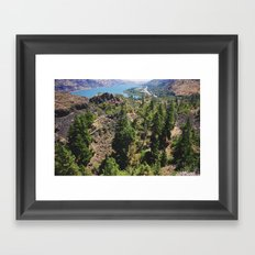 From the Tops of the Trees Framed Art Print