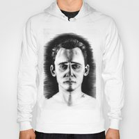 tom hiddleston Hoodies featuring Tom Hiddleston by LilKure