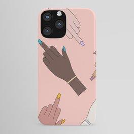 Worldwide Babes iPhone Case