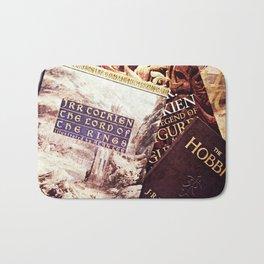Tolkien Books Bath Mat