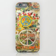 Peace Sign - Love - Graffiti iPhone 6s Slim Case