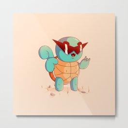 Squirtle Metal Print