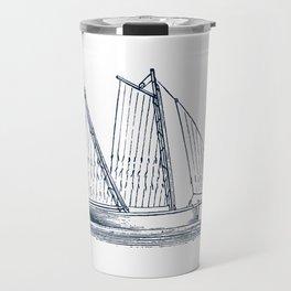 Sailing Vessel Travel Mug