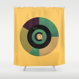 Circle Fibonacci.2 Shower Curtain
